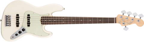 Fender American Pro Jazz Bass V, Rosewood Fingerboard, Olympic White F-0193950705