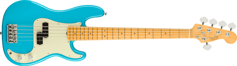 Fender American Professional II Precision Bass V Maple Fingerboard Miami Blue F-0193962719