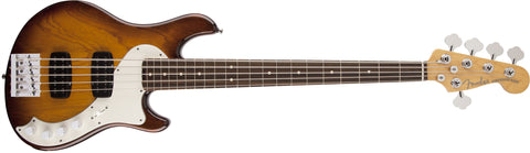 Fender American Deluxe Dimension Bass V HH, Rosewood Fingerboard, Violin Burst 0195700733 - L.A. Music - Canada's Favourite Music Store!