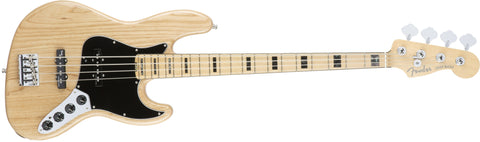 Fender American Elite Jazz Bass® Ash, Maple Fingerboard, Natural 0197002721