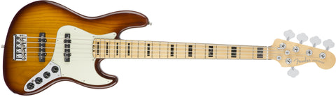 Fender American Elite Jazz Bass® V Ash, Maple Fingerboard, Tobacco Sunburst 0197102752