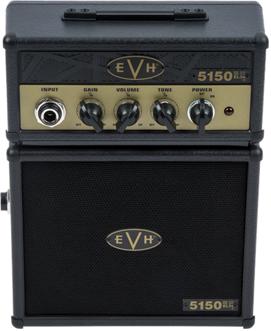 EVH 5150III EL34 Micro Stack, Black and Gold