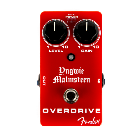 Fender YJM Yngwie Malmsteen OVERDRIVE Pedal F-0234507000 - L.A. Music - Canada's Favourite Music Store!