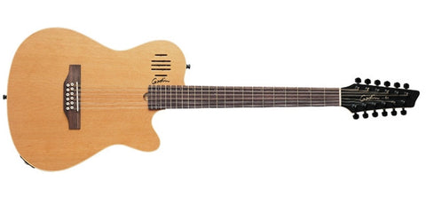 Godin Guitars A-Series A12 Natural Semi-Gloss 025343 - L.A. Music - Canada's Favourite Music Store!