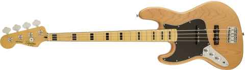 Squier Vintage Modified Jazz Bass '70s Left-Handed, Maple Fingerboard, Natural 0306722521