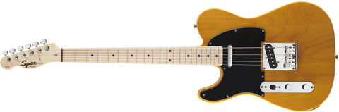 Squier Affinity Series Telecaster Left-Handed, Maple Fingerboard, Butterscotch Blonde 0310223550