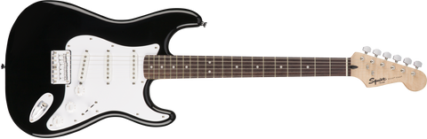 Squier Bullet Strat Hard Tail SSS Black Electric Guitar 0371001506