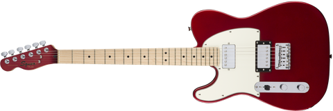 SQUIER Contemporary Telecaster® HH Left-Handed, Maple Fingerboard, Dark Metallic Red