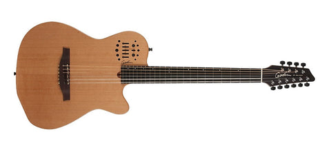 Godin Guitars A10 Natural Steel Mahogany Cedar Natural 038169 - L.A. Music - Canada's Favourite Music Store!