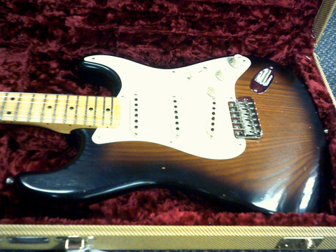 Fender Custom Shop 1956 Stratocaster Journeyman Relic Roasted Canadian Black Ash Limited Edition ONLY 1 - L.A. Music - Canada's Favourite Music Store!