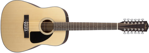 Fender CD-100 12-String, Natural 0961533021 - L.A. Music - Canada's Favourite Music Store!