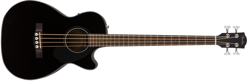 FENDER CB60SCE ACOUSTIC BASS IN Black