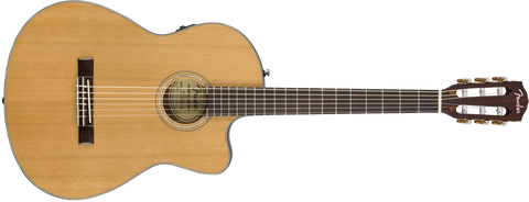 Fender CN-140SCE Classical Natural with Case