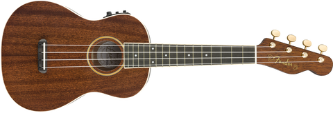 Fender Grace Vanderwaal Signature Uke, Walnut Fingerboard, Natural 0971630076