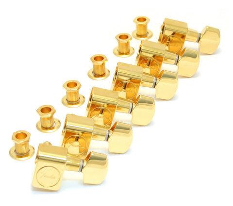 Fender AM SRS GUITAR TUNERS MACHINE HEADS GOLD F-0990820200 - L.A. Music - Canada's Favourite Music Store!