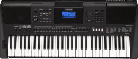 Yamaha PSRE463 Portable Touch Sensitive Keyboard with Adaptor
