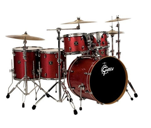 "GRETSCH CATALINA MAPLE 6PC Dark Cherry Burst w/Free 8"" Tom"