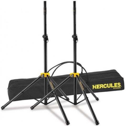 Hercules SS200BB Speaker Stands - L.A. Music - Canada's Favourite Music Store!