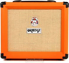 "Orange CRUSH20RT Twin channel solid state Crush 1x8"" combo with CabSim headphone out, digital reverb & tuner, 20 Watts - L.A. Music - Canada's Favourite Music Store!"