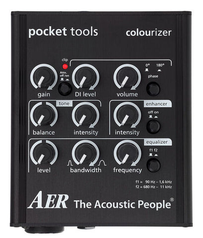 AER Pocket Tools Colourizer Preamp - L.A. Music - Canada's Favourite Music Store!