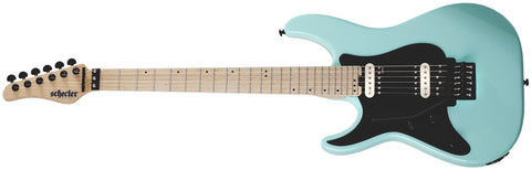 Schecter Sun Valley Super Shredder FR Left-Handed Electric Guitar Sea Foam Green 1286-SHC