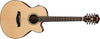 Ibanez AEL108MDNT Natural High Gloss 8-String Acoustic Electric Guitar - L.A. Music - Canada's Favourite Music Store!