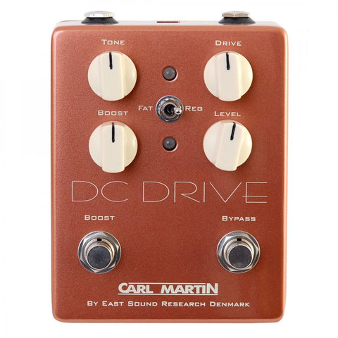 Carl Martin DC Drive Overdrive Guitar Effects Pedal