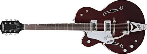 Gretsch Professional Collection G6119-1962HTLH Chet Atkins Tennessee Rose, Left-Handed, Rosewood Fretboard, Burgundy Stain 2401324866 - L.A. Music - Canada's Favourite Music Store!
