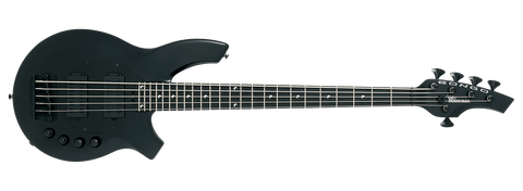Ernie Ball Music Man Bongo 5 HH - Stealth Black