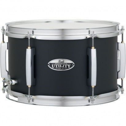 Pearl MUS1270M 12 X 7 MODERN UTILITY SNARE DRUM Satin Black - L.A. Music - Canada's Favourite Music Store!