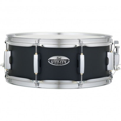 Pearl MUS1455M 14 X 5.5 MODERN UTILITY SNARE DRUM Satin Black - L.A. Music - Canada's Favourite Music Store!