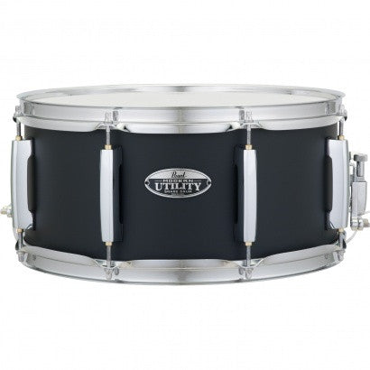 Pearl MUS1465M 14 X 6.5 MODERN UTILITY SNARE DRUM Satin Black - L.A. Music - Canada's Favourite Music Store!