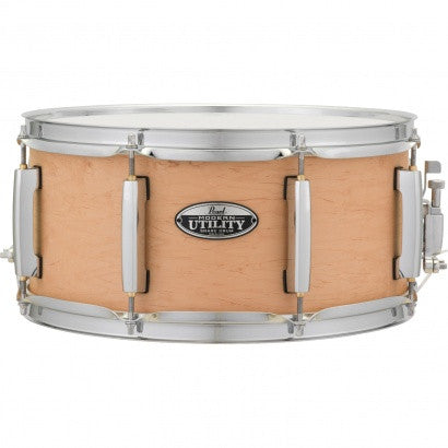 Pearl MUS1465M 14 X 6.5 MODERN UTILITY SNARE DRUM Matte Natural - L.A. Music - Canada's Favourite Music Store!