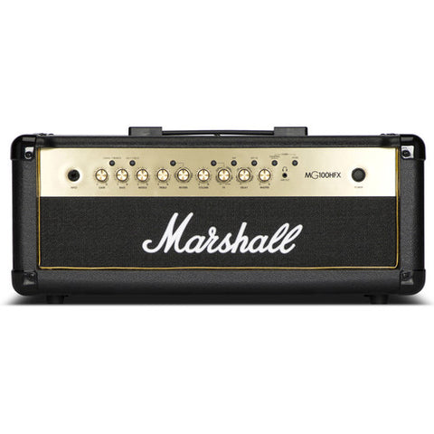 Marshall MG100HGFX MG 100 Watt Head, 4 Channel Line in, Digital FX