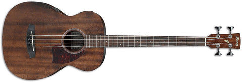 Ibanez PCBE12MHOPN Grand Concert Acoustic-Electric Bass Guitar, Open Pore Natural