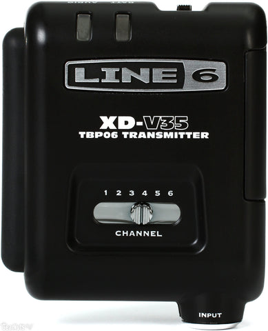 Line 6 V35-BP 6-Channel Transmitter Bodypack Separate Accessory - L.A. Music - Canada's Favourite Music Store!