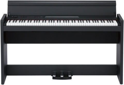 Korg 88-Key RH3 Action Digital Piano Black Cabinet LP380-BK - L.A. Music - Canada's Favourite Music Store!
