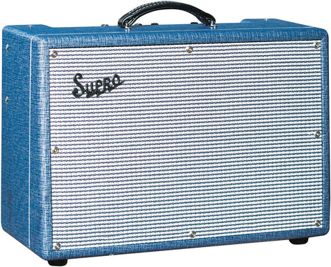 "Supro 1650RT Royal Reverb 2x10"" Flagship Tube Combo"