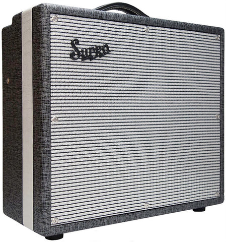 "Supro 1695T Black Magick 1x12"" Combo-25 Watt Class A Power Amp"