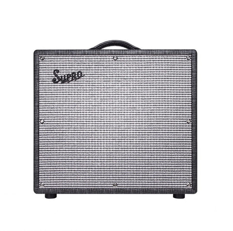 Supro Black Magick Reverb 12 Inch Combo 25 Watt Class A Power Amplifier Item ID: 1696RT
