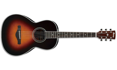 Ibanez AVN1BS Artwood Vintage Series Acoustic Guitar Brown Sunburst High Gloss - L.A. Music - Canada's Favourite Music Store!