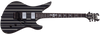 SCHECTER Synyster Custom Gloss Black w/Silver Pin Stripes 1740