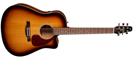 Art and Lutherie Legacy 12 Bourbon Burst CW QIT 42487