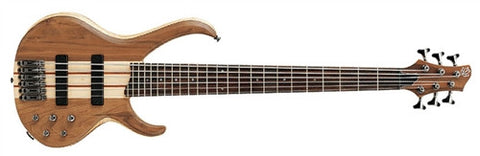 Ibanez BTB676 Natural Flat BTB 6 Walnut/Light Ash - L.A. Music - Canada's Favourite Music Store!