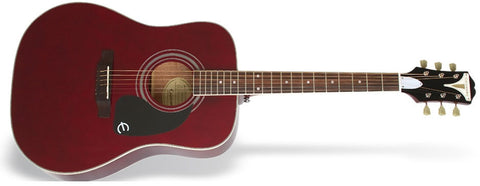 Epiphone PRO-1 Plus Acoustic Guitar Wine Red EAPPWRCH - L.A. Music - Canada's Favourite Music Store!