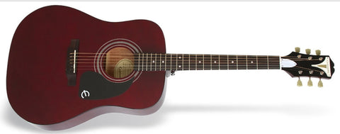 Epiphone PRO-1 Acoustic Guitar Wine Red EAPRWRCH