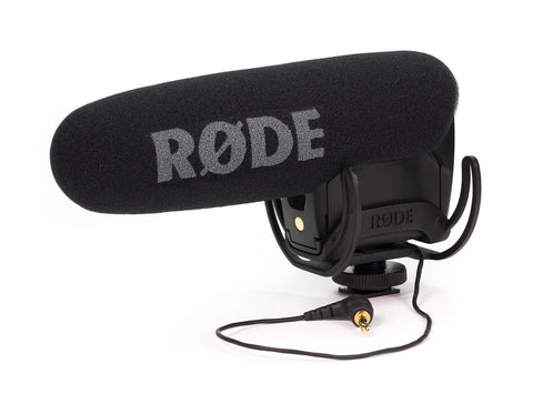 Rode VideoMic Pro Professional Shotgun Condenser Mic for DSLR and Video Cameras