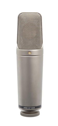 "Rode NT1000 Recording Studio Microphone with 1"" Gold Diaphram"
