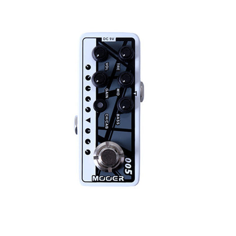 Mooer Micro Pre Amp 005 Based on EVH 5150 - L.A. Music - Canada's Favourite Music Store!