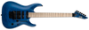 ESP LTD MH-203QM MH203 IN SEE THRU BLUE